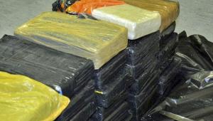 A cocaína estava em um navio procedente de um país sul-americano que não foi informado