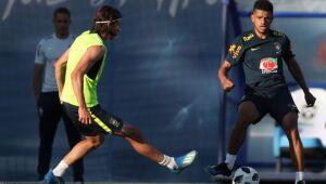 Seleção brasileira começa a preparação para enfrentar a Costa Rica/Direitos reservados/Lucas Figueiredo/CBF