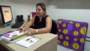 Denise Leite Lima, coordenadora do Serviço de IST da Sesau. (Foto: Sesau).