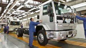 Fábrica de caminhões da Ford em São Bernardo do Campo