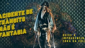 Com o tema Acidente de Trânsito não é Fantasia, entra no ar hoje a campanha de Carnaval do Detran-MS (Departamento Estadual de Trânsito de Mato Grosso do Sul).