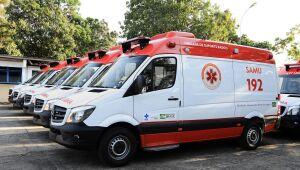 Nesse final de semana, mais seis ambulâncias chegam para reforçar o atendimento à população.
