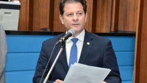 Deputado Renato Câmara cobrou rapidez do governo do Estado para recuperar a ponte sobre o Córrego Umbaracá, em Nova Andradina