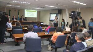 Reunião objetivou a apresentação de relatório na área de Saúde relativo ao quadrimestre de setembro a dezembro de 2019