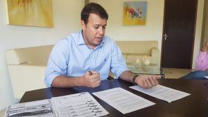 O secretário de Fazenda, Felipe Mattos, destacou o esforço da equipe econômica e da gestão estadual para manter a saúde das finanças de Mato Grosso do Sul