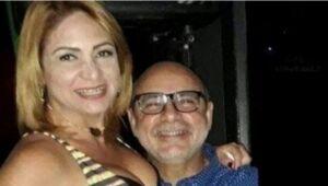 Márcia Aguiar e Fabrício Queiroz