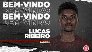 O Inter anunciou nesta segunda-feira a contratação do zagueiro Lucas Ribeiro. O jovem de 21 anos assina contrato por empréstimo do Hoffenheim, da Alemanha, até o final de 2021.