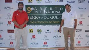 Rui Raposa o Head Pro e Flavio Cavalcanti Diretor de Golfe