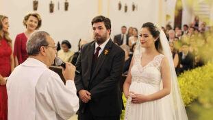 Os noivos, Camillo Zahran Gorges e Fernanda Melgarejo