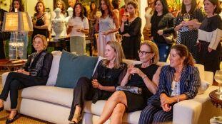 O Talk In Casa aconteceu na casa da designer de interiores Beatriz Veronezi Maia nesta terça-feira