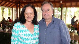 A fonoaudiologa Paola e o marido, dentista, Jose Ricardo Tortorelli