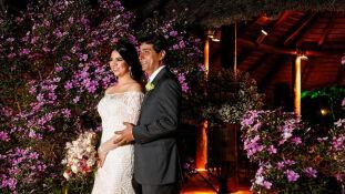 Camila Insuela e Henrique Maymone se casaram no dia 20 de julho