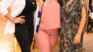 Gabi Morais, Luiza Barcelos e Daniela Barreto