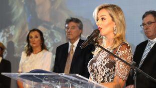 Mariana Zauith em seu discurso