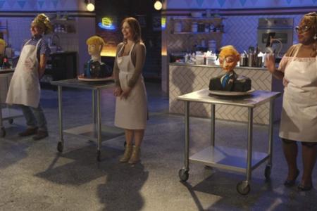 No primeiro episódio, Silvia Weinstock, que fez o bolo do casamento de Kanye West e Kim Kardashian, é a jurada convidada