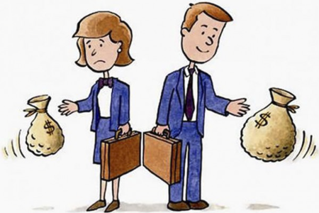 As mulheres, quando recebem uma proposta profissional, não costumam negociar o salário. Elas tendem a ser muito passivas e pouco incisivas durante a negociação