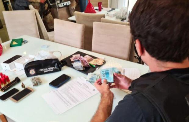 Operação cumpre mandados de prisão em MS contra tráfico internacional de drogas