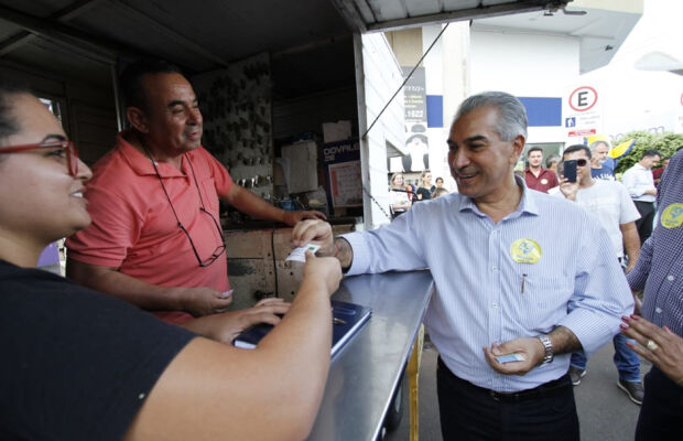 Reinaldo Azambuja vai implantar ICMS diferenciado na fronteira