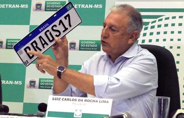 Placa Mercosul: novo modelo será adotado a partir de fevereiro