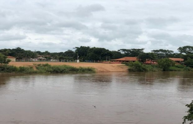 Em alerta, Defesa Civil monitora nível de água no Rio Aquidauana