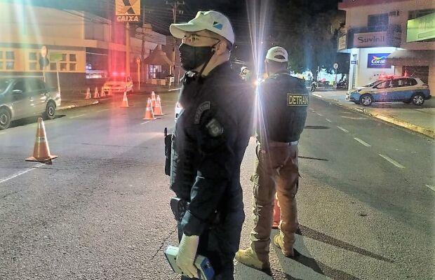 Fiscalização no fim de semana flagra quase 50 motoristas alcoolizados em Campo Grande