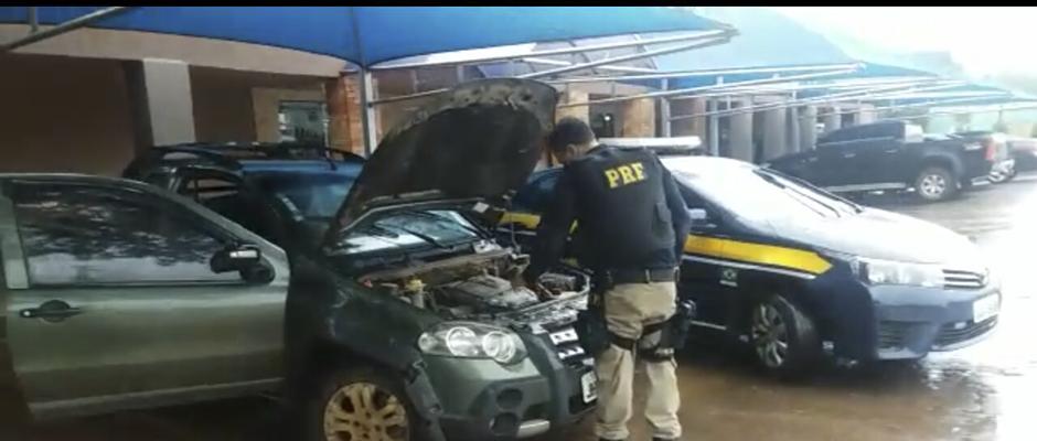 PRF prende jovem com carro roubado em Luziânia/GO
