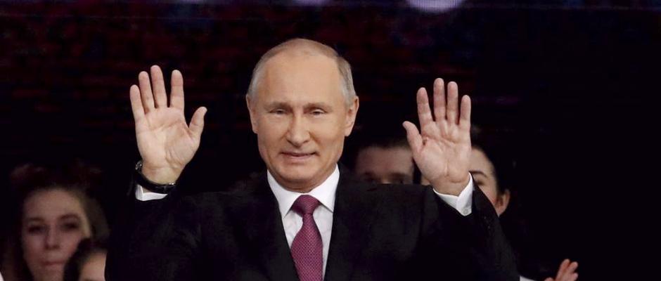 Vladimir Putin deve garantir novo mandato presidencial na Rússia
