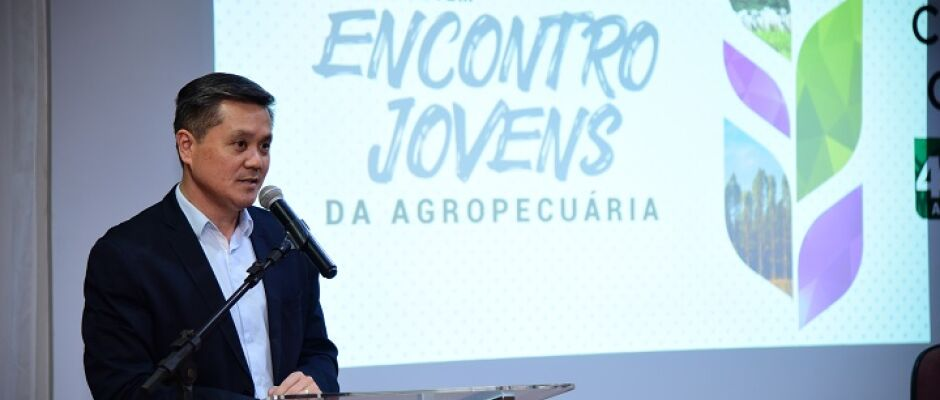 Saito destaca que o jovem é o bônus do agronegócio durante encontro Jovens da Agropecuária