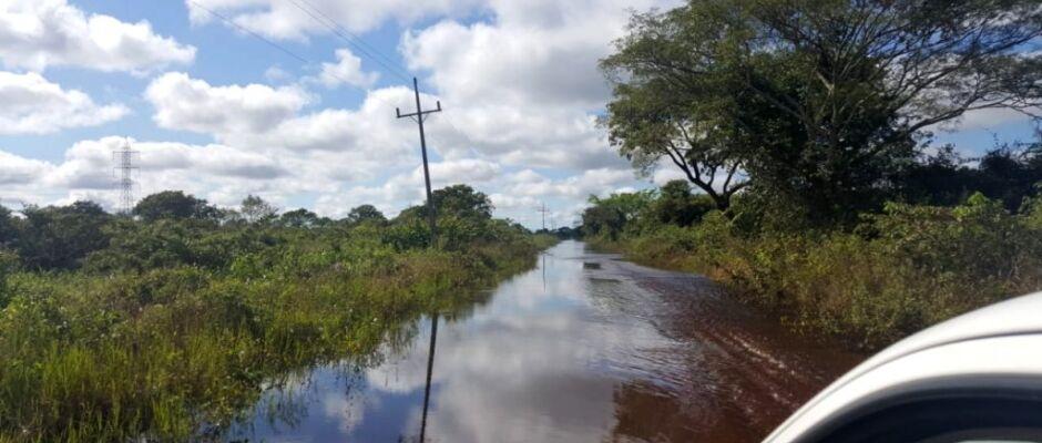 Defesa Civil do Estado avalia impactos da cheia do Pantanal nas áreas ribeirinhas