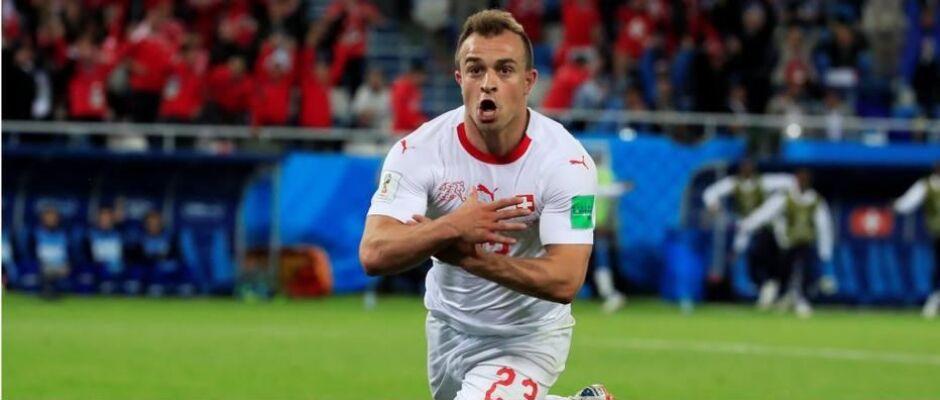 Suíça busca virada sobre a Sérvia e deixa Brasil na liderança de grupo