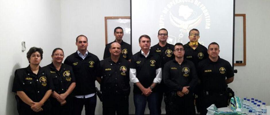 Bolsonaro planeja replicar trabalho do DOF na fronteira do país