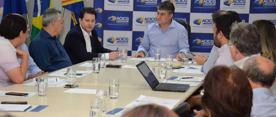 Associação Comercial reúne entidades e apresenta parecer contrário ao PL que pode emperrar o comércio no Estado
