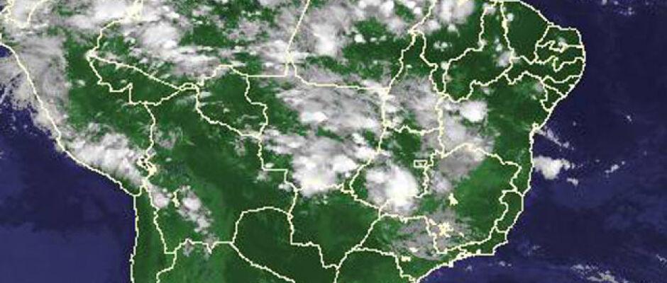 Sexta-feira será de céu claro e possibilidade de chuva em pontos isolados