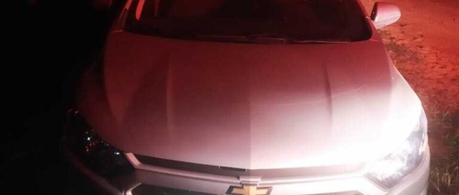 Polícia Militar recupera veículo furtado em Paranaíba