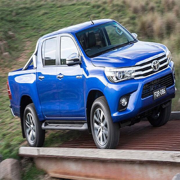 Toyota revela nova geração da picape Hilux 2016 - A Crítica de ...