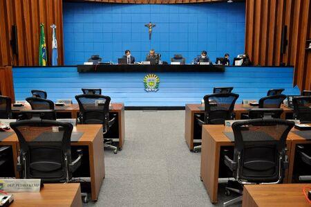 Foram apreciados e aprovados quatro projetos de lei pelos parlamentares da Assembleia Legislativa de Mato Grosso do Sul