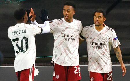 O Arsenal venceu a partida contra o Molde, por 3 a 0, com gols de Pepé, Nelson e Balogun