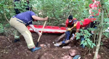 As vítimas teriam sido identificadas como Raid Salem, Felipe Bueno, Muriel Correia e Cristian Gustavo Torales Alarcón