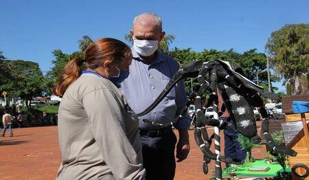 Acão no dia D de combate a dengue