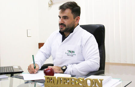 O nutricionista Emerson Duarte