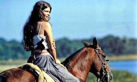 Christiana Oliveira interpretando a eterna Juma Marruá