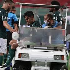 Gómez deixou a semifinal ainda no primeiro tempo