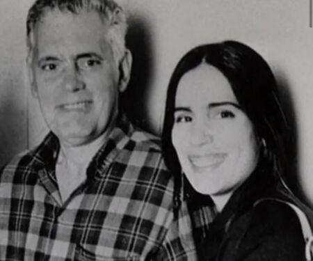 A atriz Gloria Pires e o pai Antônio Carlos
