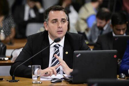O senador Rodrigo Pacheco (DEM-MG)