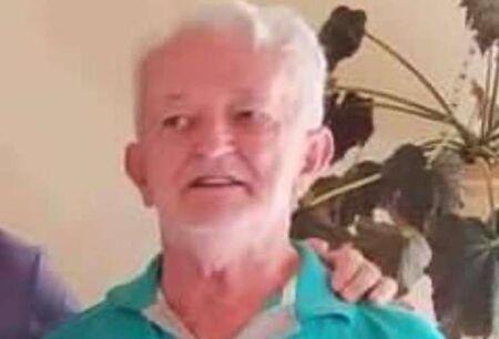 O taxista Sidnei Peixoto de Lima, 75