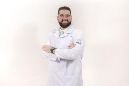 O professor Cristiano Caveião