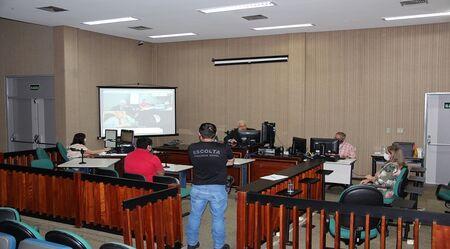 A Agepen tem participado diretamente no processo das audiências de custódia realizadas no Fórum de Campo Grande