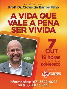 Santa Casa Promove Palestra Motivacional Com Escritor Da Usp
