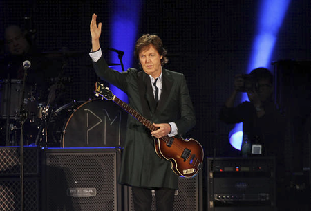 A Wolf Foundation afirmou que McCartney