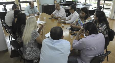 """Outro ponto foi a busca por emendas parlamentares que possam fomentar alguns trabalhos da agricultura familiar dentro das aldeias"""", informou o dirigente da Agência"""